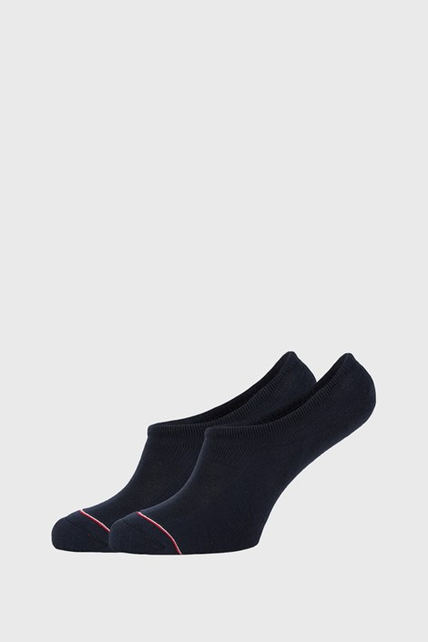 2 PACK plavih niskih čarapa Tommy Hilfiger Iconic