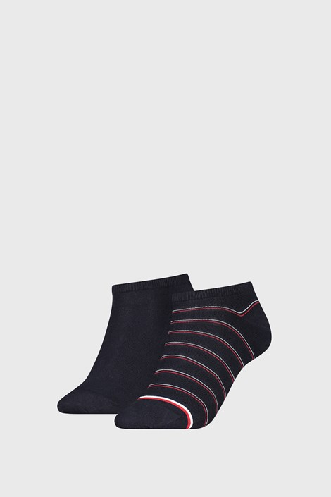 2 PACK ženskih čarapa Tommy Hilfiger Preppy Navy