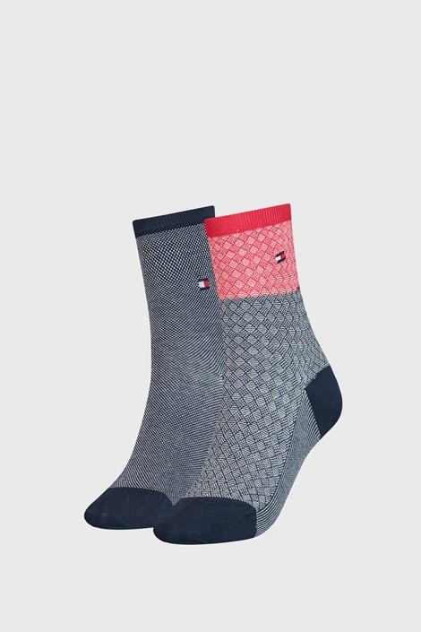 2 PACK ženskih čarapa Tommy Hilfiger Argyle I