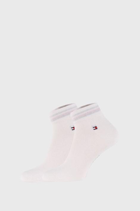 2 PACK bijelih čarapa Tommy Hilfiger Quarter