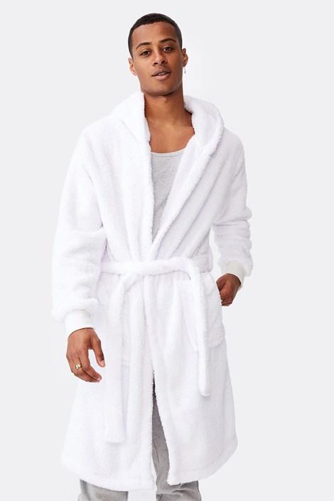 Bijeli ogrtač Plush