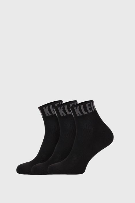 3 PACK crnih čarapa Calvin Klein Drake