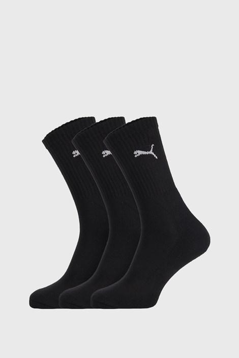 3 PACK crnih čarapa Puma Sport