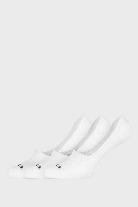 3 PACK bijelih čarapa FILA Ghost