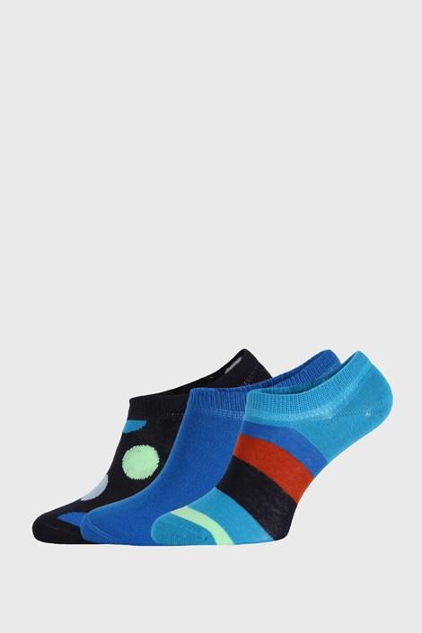3 PACK čarapa Happy Socks Stripes No Show