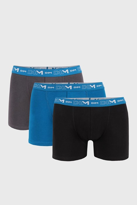 3 PACK muških bokserica DIM Cotton Stretch