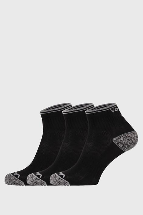 3 PACK sportskih čarapa Ray crne