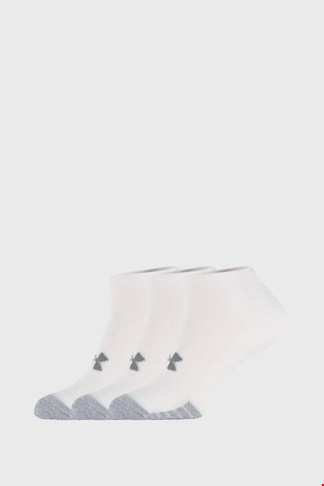 3 PACK bijelih čarapa Under Armour Locut