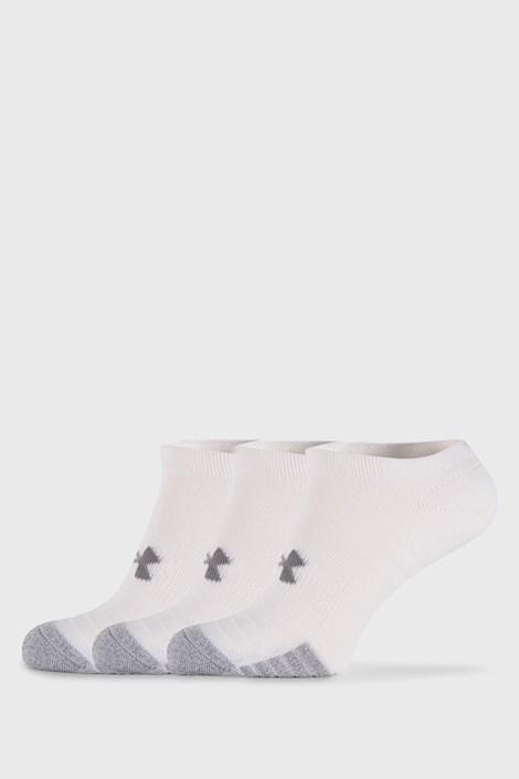 3 PACK bijelih čarapa Under Armour