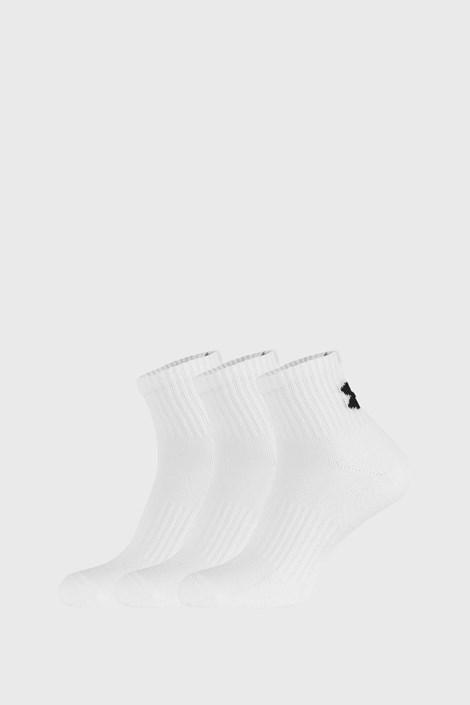 3 PACK bijelih čarapa Core Under Armour
