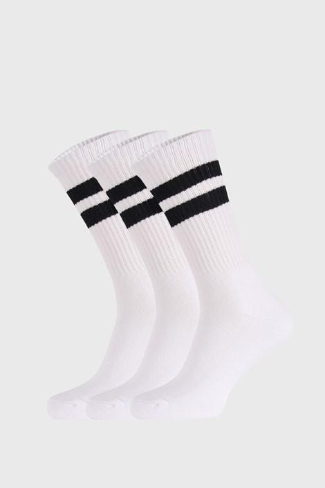 3 PACK bijelih čarapa Active