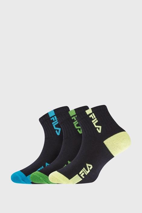 3 PACK dječjih čarapa FILA Fluo