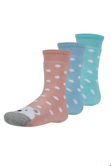 3 pack dječje tople čarape Dorote