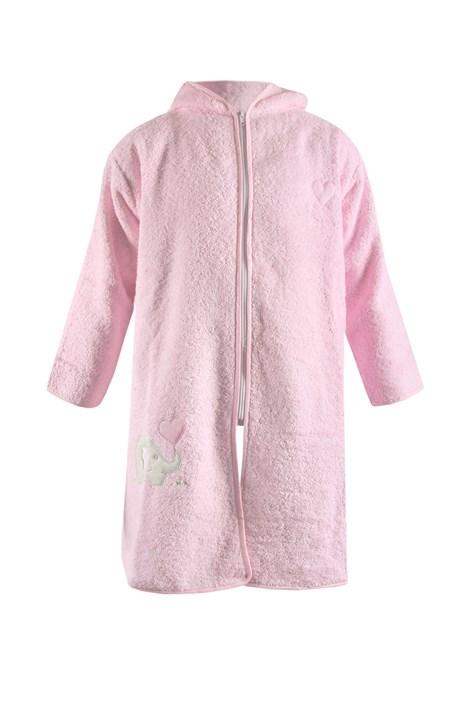 Dječji ogrtač Blue Kids ružičasti slon