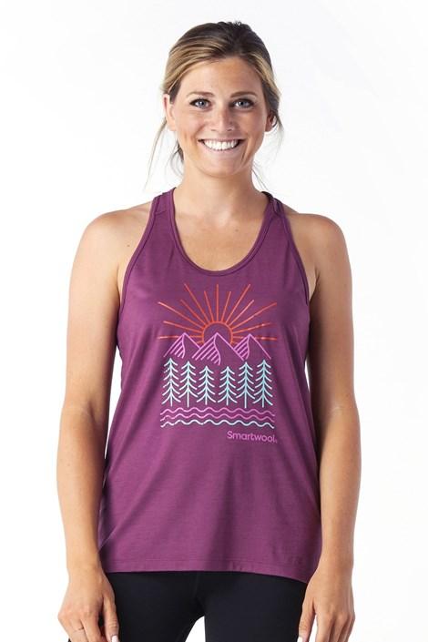 Ženska sportska majica SMARTWOOL Merino Forest