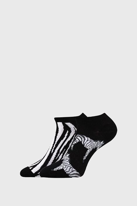 2 PACK ženskih čarapa Zebra