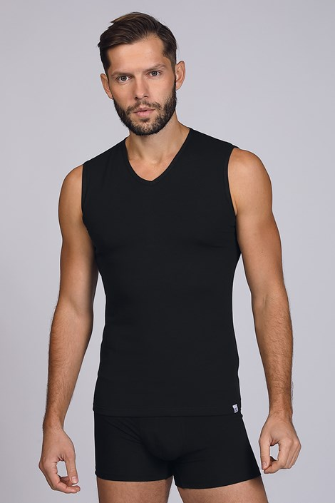 Crna majica bez rukava