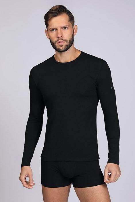 Crna majica s dugim rukavima