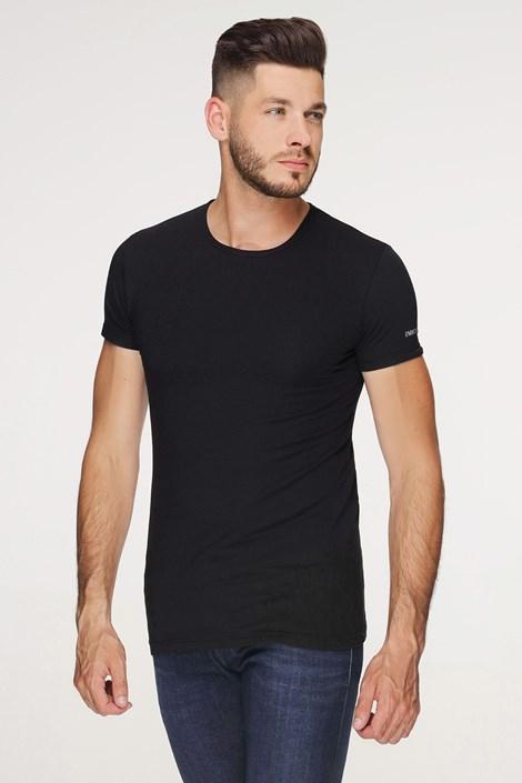 Crna pamučna majica PLUS SIZE