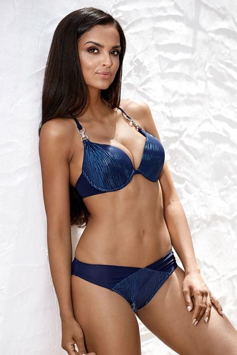 Gornji dio ženskog kupaćeg kostima Shiny Blue I