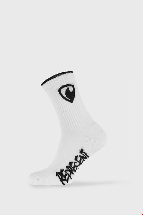 Bijele čarape Represent Long